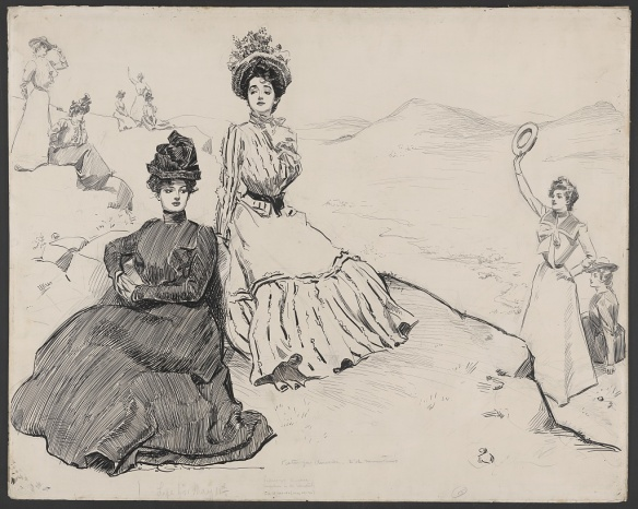 Artist: Gibson, Charles Dana, 1867-1944 Courtesy of the Library of Congress